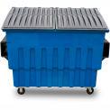 Toter 2 Yard Front Loading Dumpster, Blue - FL020-59059