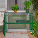 "2-Level Greenhouse Shelving, Free Standing, 3' 9""L x 2' 6""W x 2' 6""H"