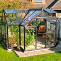 "Junior Victorian Orangerie Greenhouse, T-Shaped, 10' 3""L x 13'W x 8' 2""H"