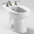 TOTO® BT500B-01 Piedmont Vertical Spray Bidet, Cotton White