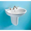 TOTO® LT241G-01 Supreme® 1, Hole SG Lavatory, Cotton White