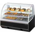 4' Curved Glass Refrigerated Bakery Case