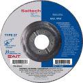 "United Abrasives - Sait 20074 Depressed Center Wheel T27 Saitech 5""x 1/4"" x 7/8"" Ceramic Alum. Oxide - Pkg Qty 25"