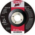 "United Abrasives - Sait 22021 Depressed Center Wheel T27 4-1/2""x .045"" x 7/8"" 60 Grit Alum. Oxide - Pkg Qty 50"