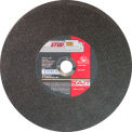 "United Abrasives - Sait 24050 Cut Off Wheel Type 1 Stud King 14"" x 3/32"" x 1"" Aluminum Oxide - Pkg Qty 10"