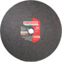 "United Abrasives - Sait 24051 Cut Off Wheel Type 1 Ironworker 14"" x 3/32"" x 1"" Aluminum Oxide - Pkg Qty 10"
