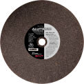 "United Abrasives - Sait 24052 Cut Off Wheel Type 1 A46N 14"" x 3/32"" x 1"" 46 Grit Aluminum Oxide - Pkg Qty 10"