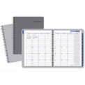 DayMinder® Traditional Monthly Planner, 8 1/2 x 11, Gray, 2019