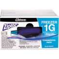 ZIPLOC® 1 Gallon Recloseable Freezer Bags 2.7 Mil, Clear with Label Panel, 250 Pack
