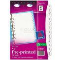 Avery® Small Preprinted Dividers, 5-1/2x8-1/2, A-Z, White