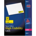 Avery® High-Visibility Laser Labels, 1 x 2-5/8, Neon Yellow, 750/Pack