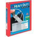 """Avery® Heavy-Duty View Binder with One Touch EZD Rings, 1"""" Capacity, Red"""