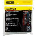 Stanley Bostitch® Dual Temperature Glue Sticks, 4 in Stick, 24/Pack