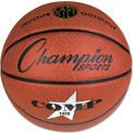 "Champion Sports SB1020 Composite Basketball, Official Size, 30"", Brown"