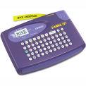 Casio® KL-60L Label Maker, 2 Lines, Purple