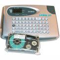Casio® KL60SR Compact EZ-Label Maker, 2 Lines, Silver