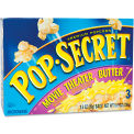 Pop Secret® Microwave Popcorn, Movie Theater Butter, 3.5 Oz, 3/Box