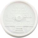 Dart® Sip Thru Lids, Fits 6-10 Oz. Cups, White, Qty. 1,000,