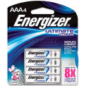 Energizer® AAA e² Ultimate Lithium Batteries, 4 per Pack