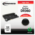 Innovera® DR360 Drum Unit, 12000 Page Yield, Black