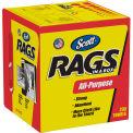 "Scott Rags in a Box 10"" x 12"" 200/Box, White - KIM75260"