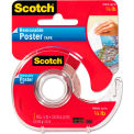 """Scotch® Wallsaver Removable Poster Tape, Double-Sided, 3/4"""" x 150"""", w/Dispenser"""