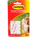 3M Command™ Poster Strips, White, 12/Pack