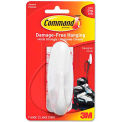 3M Command™ General Purpose Hooks, Large, 5-lb Capacity, Plastic, White
