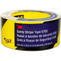 "3M™ 5702 Caution Stripe Tape, 2""W x 108'L, Black/Yellow, 1 Roll"