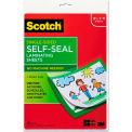 Scotch® Self-Sealing Laminating Sheets, 6.0 mil, 8 1/2 x 11, 10/Pack