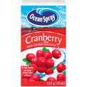 Ocean Spray Aseptic Juice Boxes, Cranberry, No High Fructose, 4.2 Oz, 40/Carton
