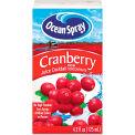 Ocean Spray Aseptic Juice Boxes, Cranberry, No High Fructose, 4.2 Oz, 40/Carton