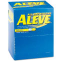 Aleve 82909533 Pain Reliever Tablets, 1 per Pack, 50 Packs/Box