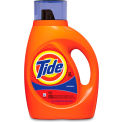Tide 2X Ultra Laundry Detergent Liquid, 50 oz. Bottle, 6 Bottles - 13878