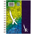 "Maxim 1-Subject Notebook, College Rule, 7"" x 5"", 80 Sheets/Pad, Assorted"