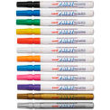 Sanford® uni-Paint Markers, Fine Point, Assorted, 12/Set