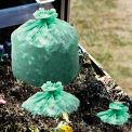 Stout® EcoSafe-6400 Compostable Compost Bag 48 Gallon 0.85 Mil, Green 40 Bags/Box - STOE4248E85