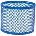 Round UltraCoat Planter, Diamond - Blue