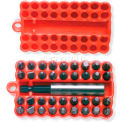 Urrea Hex Insert Set, 61927, Phillips, Square, Flat, Clucth & Hex Bits W/Magnetic Adapter, 37 Pieces