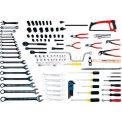 Urrea Electrical Maintenance Set W/D7 Toolbox, 98111, 109 Pieces