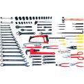 Urrea Pipe Maintenance Set W/D7 Toolbox, 98131, 77 Pieces