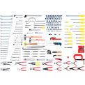 Urrea Industrial Metric Intermediate Set; 203 Pc, 99550, 203 Pieces