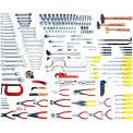Urrea Industrial Metric Intermediate Set W/Tool Storage, 99552, 205 Pieces