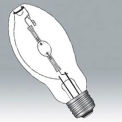 Ushio 5001356 Mh150/U/Med/40/Ps, Pulsestrike, Ed17, 150 Watts, 15000 Hours Bulb - Pkg Qty 12