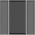 Vari-Tuff Deep Door Bin Cabinet - 36x24x72