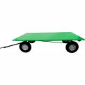 Valley Craft® Light Duty Trailer F89316 - 72 x 48 Flush Deck - Pneumatic Wheels - Ring & Pintle