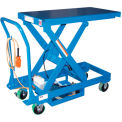 DC Power Hydraulic Scissor Cart - Single