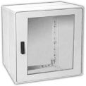 "Vynckier PSB2020E1A POLYSAFE 20"" X 20"" Non-Metallic Enclosure, 1 Extension, 1 Bonded Window Door"