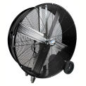 "MaxxAir™ Pro Series 30"" Direct Drive Portable Barrel Fan, 5500 CFM, Black, BF30DDBLKPRO"