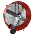 "MaxxAir™ 42"" Belt Drive Heavy Duty Portable Barrel Fan BF42BD RED 13300 CFM"